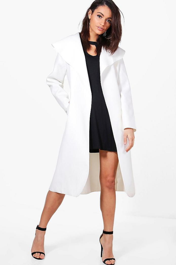 Kate Belted Shawl Collar Coat, $23