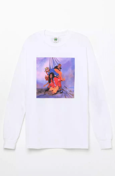Cross Colours TLC Studio Long Sleeve T-Shirt, $25.19