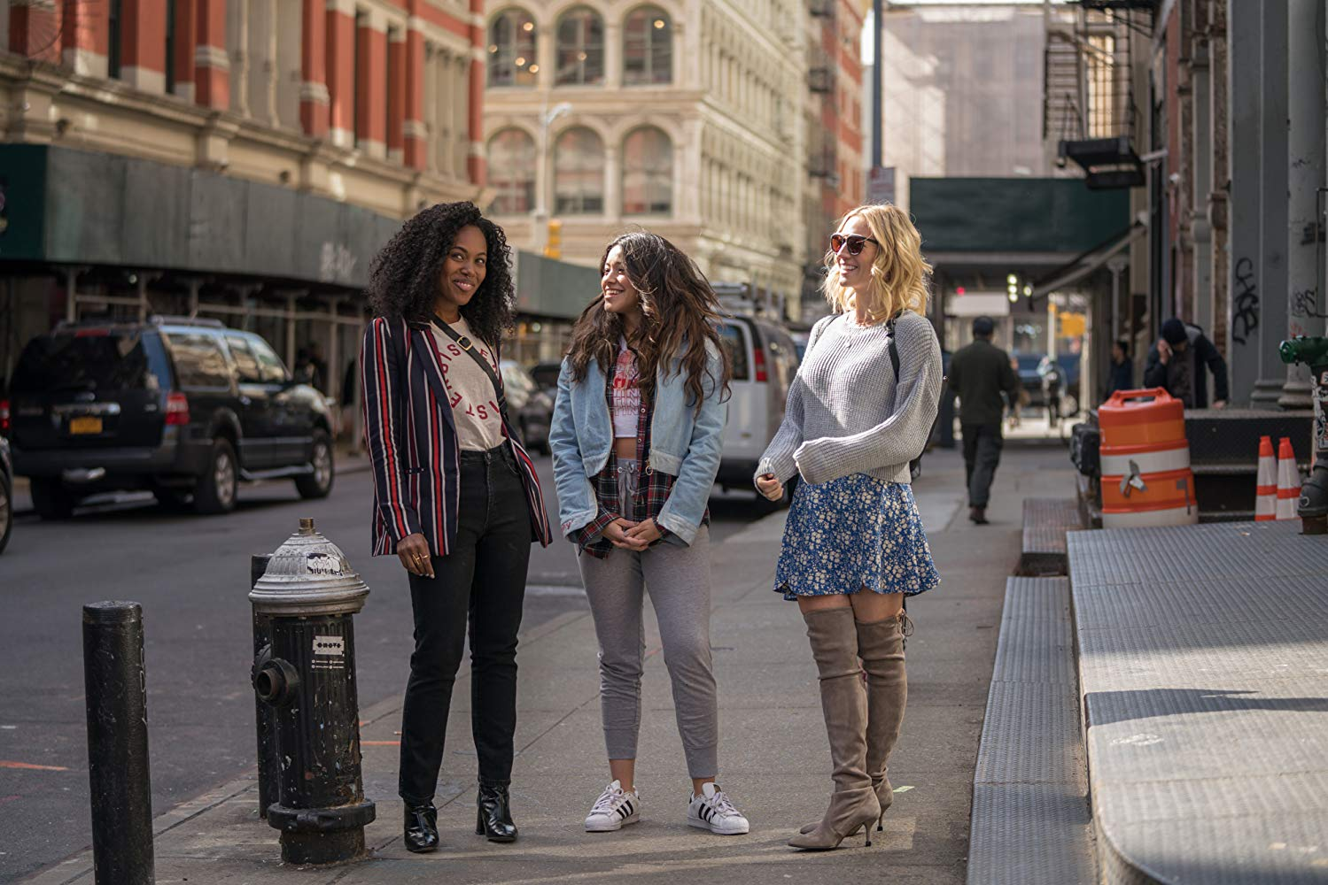 DeWanda Wise, Gina Rodriguez, and Brittany Snow in Someone Great   IMDb