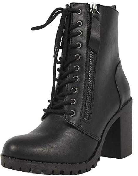 Soda Women's Malia Combat Boot, $27.13